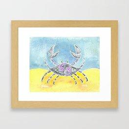 Zodiac Collection: Cancer Framed Art Print
