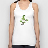 succulent Tank Tops featuring Succulent by Pea Press