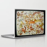 pasta Laptop & iPad Skins featuring Pasta Love by Bella Blue Photography