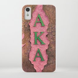 Alpha Kappa Alpha Sister In Profile I iPhone Case