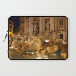 Trevi Fountain - Rome, Italy Laptop Sleeve