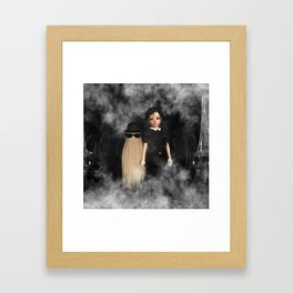Halloween Family Framed Art Print