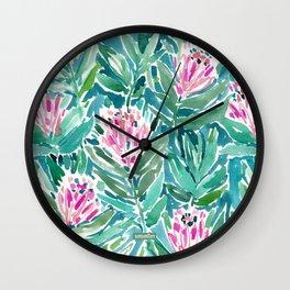 PROTEA PARADISE Wall Clock