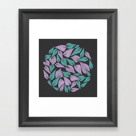 Winter Wind Framed Art Print