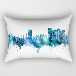 Birmingham Alabama Skyline Rectangular Pillow