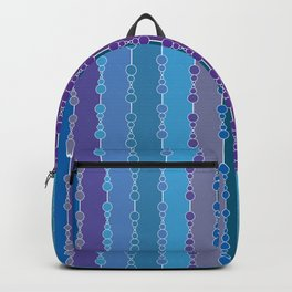 Multi-faceted decorative lines 4 Backpack