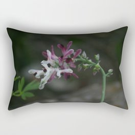 Earth Smoke Flower Rectangular Pillow