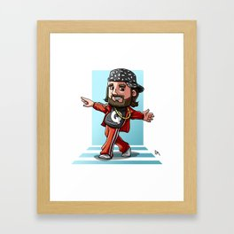 Impractical Joker Q Framed Art Print