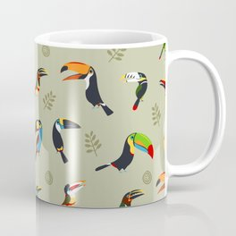 Toucans by Lili Chin Coffee Mug