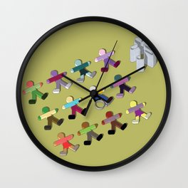 Break the mold (handicap) Wall Clock