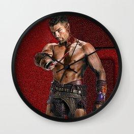 Liam McIntyre Spartacus 1 Wall Clock