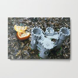 Broken Fruition Metal Print