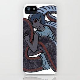 Sharp-tailed Snake-Boy iPhone Case