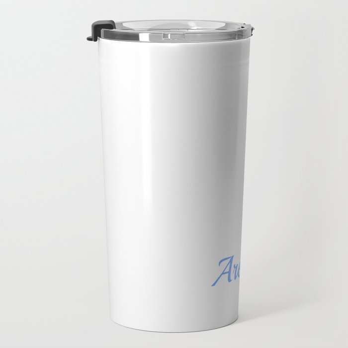 Dragons Are Born In August Travel Mug