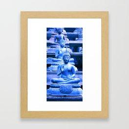 All of us feel the blues sometimes... Framed Art Print