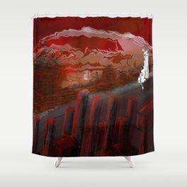 Futility Shower Curtain