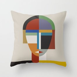 WOMEN AND WOMAN Throw Pillow