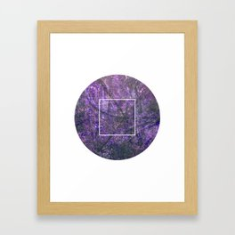Geometrie #3 Framed Art Print