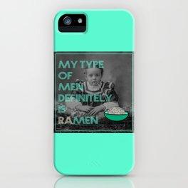 ramen lover iPhone Case