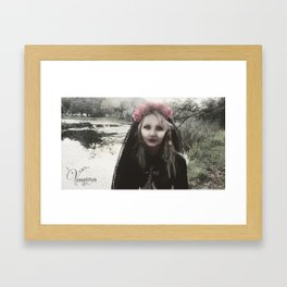"VAMPLIFIED ""Gothic Sunday"" Framed Art Print"