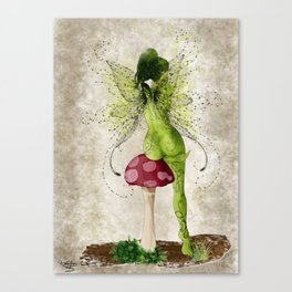 Fairy Pouty Canvas Print