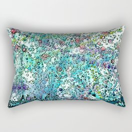 colorful watercolor abstraction 2 Rectangular Pillow