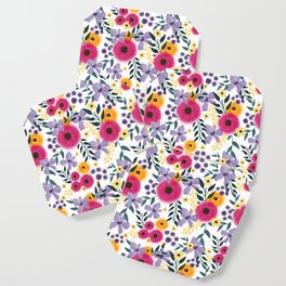 Spring Floral Bouquet Coaster