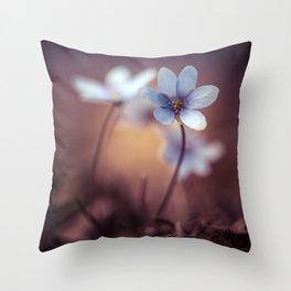 Liverworts Throw Pillow