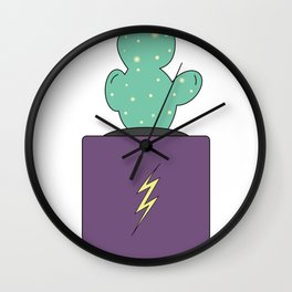 Daryl the Adventure Cactus Wall Clock