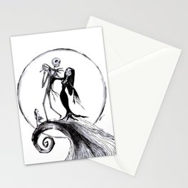 The Nightmare Family Inktober Drawing Stationery Cards