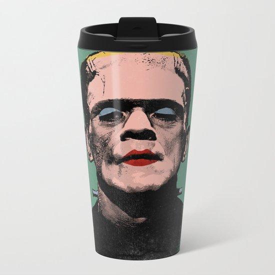 The Fabulous Frankenstein's Monster Metal Travel Mug