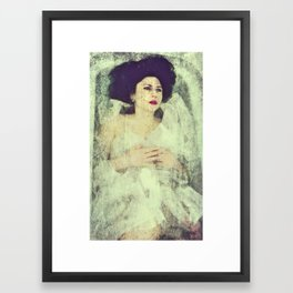 Deadly Waters - The Bride Framed Art Print