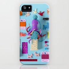 Miniature Collage: Crafting Slim Case iPhone (5, 5s)