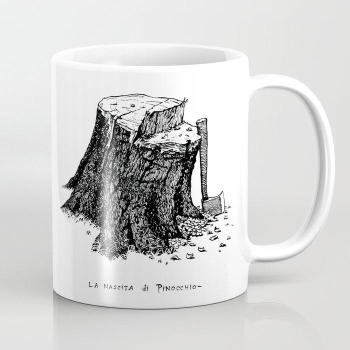 Birth of Pinocchio Coffee Mug