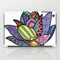 lotus flower iPad Cases featuring Lotus by Ilse S
