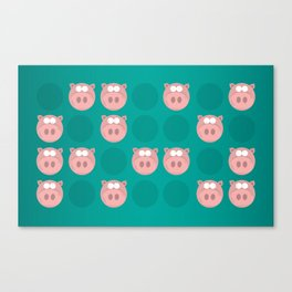 Oink... Canvas Print