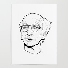 Larry David Poster