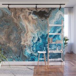 Earthy Waves 3 Wall Mural