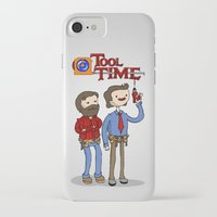 tool iPhone & iPod Cases featuring tool time. by dann matthews