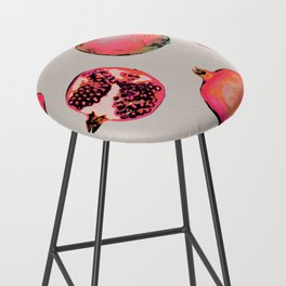 Pomegranate Pattern Bar Stool
