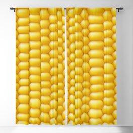 Corn Cob Background Blackout Curtain