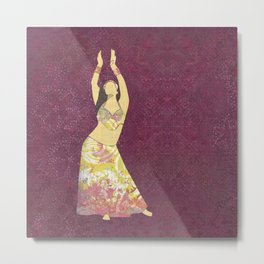 Belly dancer 13 Metal Print