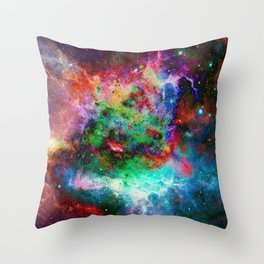 Everything is nothing 11 (therefore it was beautiful) Throw Pillow