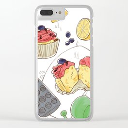 Joys of Baking Clear iPhone Case