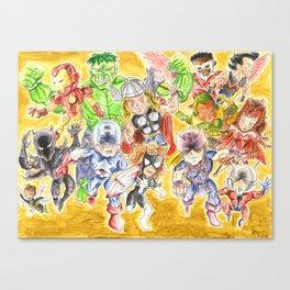 ASSEMBLE!!!!!! Canvas Print