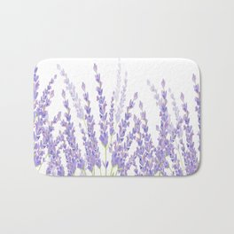 Lavender in the Field Bath Mat