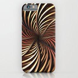 Spirals of Gold iPhone Case
