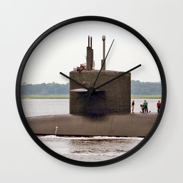 USS WEST VIRGINIA (SSBN-736) Wall Clock