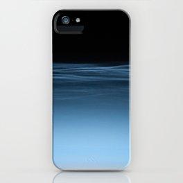 twilight shine on the horizon   space 017 iPhone Case