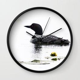 June Loon Wall Clock
